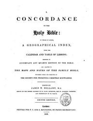 A Concordance To The Holy Bible Book PDF
