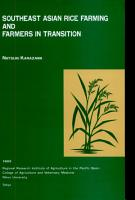 Southeast Asian Rice Farming and Farmers in Transition PDF