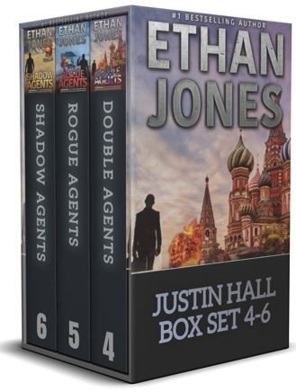 Justin Hall Spy Thriller Series Books 4 6 Box Set
