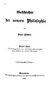 Geschichte der neuern philosophie: Band 4