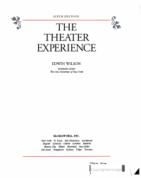 The Theater Experience