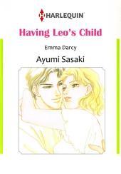 HAVING LEO'S CHILD: Harlequin Comics