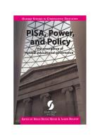 PISA  Power  and Policy PDF