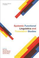Systemic Functional Linguistics and Translation Studies PDF
