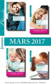 8 romans + 2 gratuits Blanche (no1306 à 1309 - Mars 2017)