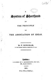 System of Shorthand on the Principle of the Association of Ideas