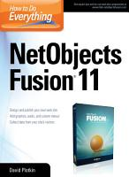 How to Do Everything NetObjects Fusion 11 PDF