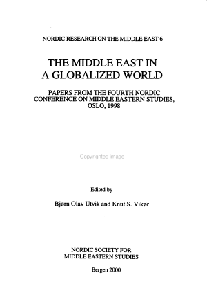 The Middle East in a Globalized World