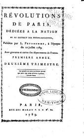 Révolutions de Paris: dédiées à la nation et au district des Petits-Augustins, Numéros14à29