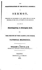The low value set upon human life in the United States: a discourse delivered on Thanksgiving-day, November 24th, 1853