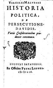 Historia politica de persecutione Davidis