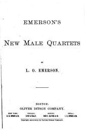 Emerson's New Male Quartets