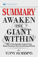 Summary of Awaken the Giant Within PDF