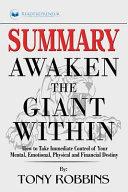 Summary of Awaken the Giant Within
