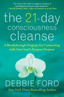 The 21 Day Consciousness Cleanse PDF