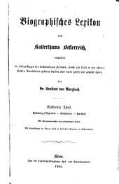 Biographisches lexikon des kaiserthums Oesterreich: enthaltend die lebensskizzen der denkwürdigen personen, welche seit 1750 in den österreichischen kronländern geboren wurden oder darin gelebt und gewirkt haben, Band 7