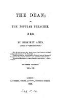 The dean  or  The popular preacher  by Berkeley Aikin PDF