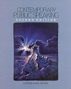Contemporary Public Speaking Book