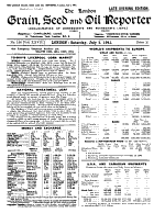 London Grain  Seed  and Oil Reporter PDF
