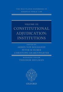 The Max Planck Handbooks in European Public Law PDF