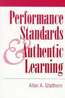 Performance Standards and Authentic Learning PDF