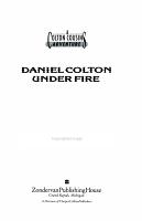 Daniel Colton Under Fire PDF