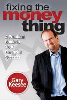Fixing the Money Thing PDF
