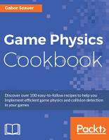 Game Physics Cookbook PDF