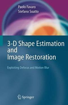 3 D Shape Estimation and Image Restoration PDF