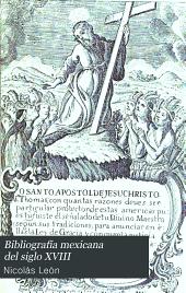 Bibliografía mexicana del siglo XVIII: Número 7