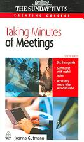 Taking Minutes of Meetings PDF
