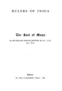 The Earl of Mayo PDF