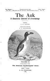 The Auk: Volume 6