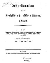 Gesetz-Sammlung für die Königlichen Preußischen Staaten