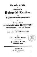 Universal lexikon  oder Vollst  ndiges encyclop  disches w  rterbuch der wissenschaften  k  nste und gewerbe PDF