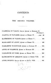 Lives of the queens of England, from the Norman Conquest: now first published from official records & other authentic documents, private as well as public, Volume 2