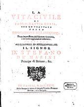 La Vita Civile: Con un trattato della Educazione del Principe