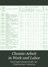 Chemie-Arbeit in Werk und Labor: Band 9