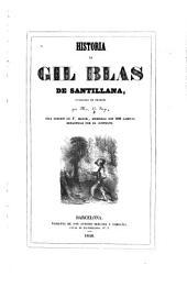 Historia de Gil Blas de Santillana: publicada en francés, Volumen 1