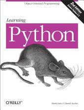 Learning Python: Edition 2