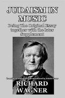 Judaism in Music PDF