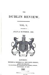 The Dublin Review: Volume 5