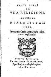 Adversus Dialogistam liber de una religione