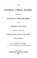 The Grammar School Reader PDF