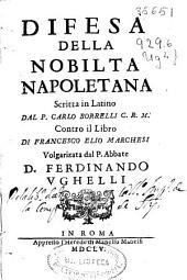 Difesa della nobilta napoletana