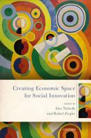 Creating Economic Space for Social Innovation PDF