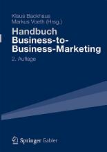 Handbuch Business to Business Marketing PDF