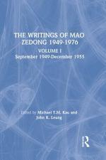 The Writings of Mao Zedong, 1949-1976: January 1956-December 1957