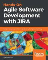 Hands On Agile Software Development with JIRA PDF