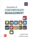 Loose Leaf for Essentials of Contemporary Management